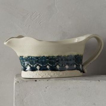 Old Havana Gravy Boat by Anthropologie