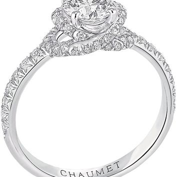 CHAUMET - Liens solitaire platinum and diamond engagement ring | Selfridges.com