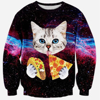 Galaxy Fashioned Sweatshirts