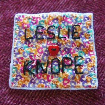 Leslie Knope patch. Parks and Recreation patch. Leslie Knope Parks and Recreation. Feminist Patch. Feminist patches. Leslie Knope.