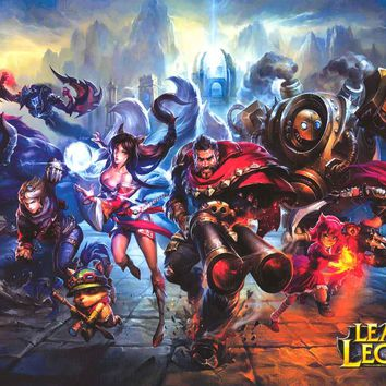 League of Legends Video Game Poster 24x36