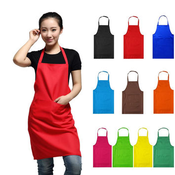 Factory Price Waterproof Aprons Adjustable Sleeveless Cooking Work Aprons Kitchen Apron Chef Apron