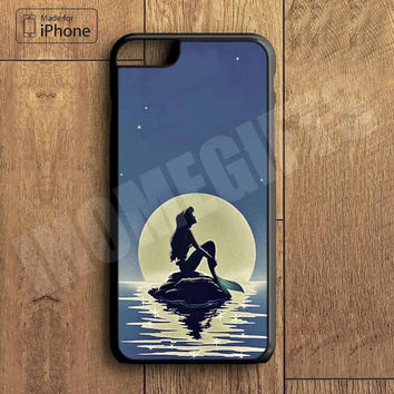 Little Mermaid Phone Case For iPhone 6 Plus For iPhone 6 For iPhone 5/5S For iPhone 4/4S For iPhone 5C iPhone X 8 8 Plus
