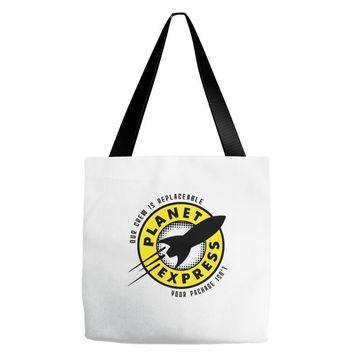 planet express Tote Bags