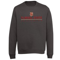 Florida State Seminoles Block V-Notch Sweatshirt - Charcoal