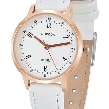 DCCKLO8 DOVODA Womens Watches Fashion Classic Wristwatches Small Face Dress Watch