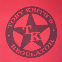 Country Music Artist Musician Toby Keith's Regulator Tshirt Size XLarge