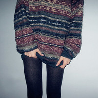 Mystery Vintage Hipster Sweater