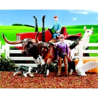 Breyer Stablemates Tractor Play Set