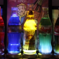 Fallout Nuka Cola Quantum, Quartz, Victory, Original or Sunset Sarsaparilla LED Lamp