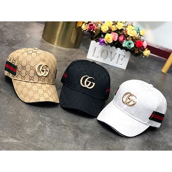 GUCCI 2019 new men and women outdoor sports baseball cap