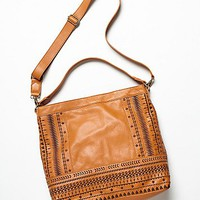 Isabella Fiore Womens On the Border Hobo - Henna One