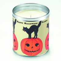 Happy Halloween Candle
