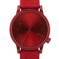 KOMONO Heritage Monotone Red Winston Watch | HBX.