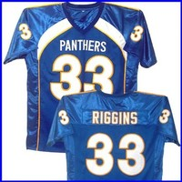 Friday Night Lights Season III Riggins #33 Blue Jersey