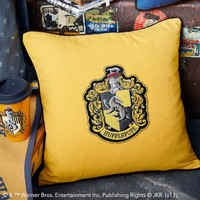 HARRY POTTER™ House Patch Hufflepuff™ Pillow Cover
