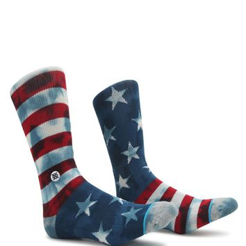 Stance Banner Crew Socks - Mens Socks - Blue - One