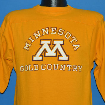 70s Minnesota Gold Country Jersey Champion t-shirt Medium