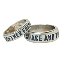 Doctor Who TARDIS His Hers Ring Set