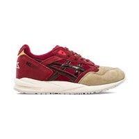Asics Gel Saga Santa in Burgundy
