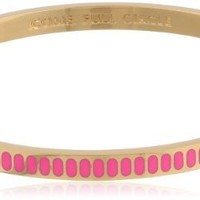 "kate spade new york ""Idiom Bangles"" Come Full Circle Bangle Bracelet, 2.25"""