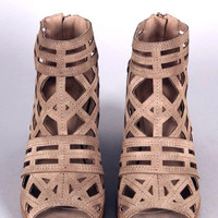 On the Edge Cutout Booties