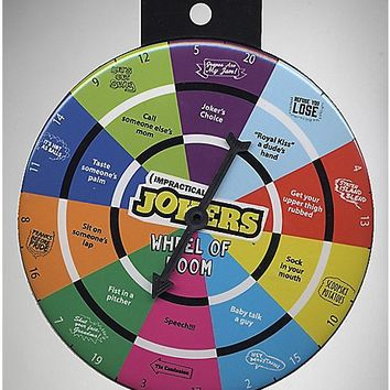 Impractical Jokers Spinner Button - Spencer's