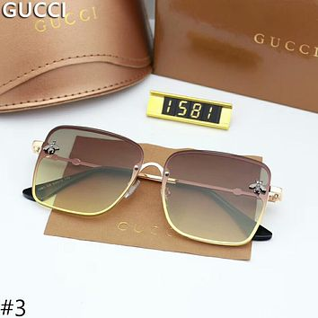 GUCCI new trend of small bees logo personality stylish sunglasses F-A-SDYJ #3