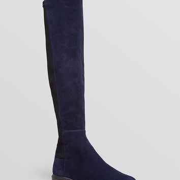 Stuart Weitzman Lugmainline Stretch Flat Tall Boots - Bloomingdale's Exclusive