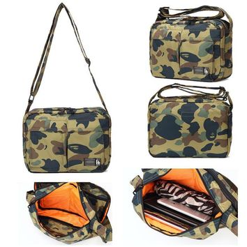 One Shoulder Korean Camouflage Men Bags Messenger Bags [211443417100]