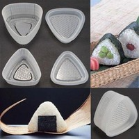 2PCs Triangular Form Sushi Mold