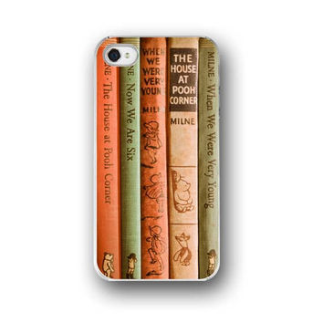 Winnie the Pooh iPhone 5 4 4s Case Cell by ShadetreePhotography