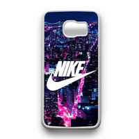 NIKE Logo New York City Samsung Galaxy S6 Edge Case