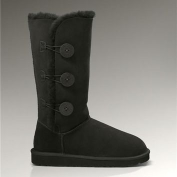 UGG Bailey Button Triplet 1873 Boots Black