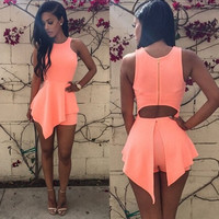 Sexy Women Fashion Bodycon Short/Mini Dress Evening Party Cocktail Clubwear S-XL = 1946725828