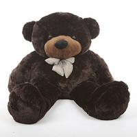 "55"" - Sunny Cuddles, Life Size Huggable & Soft, Light brown Plush Teddy Bear, by Giant teddy"