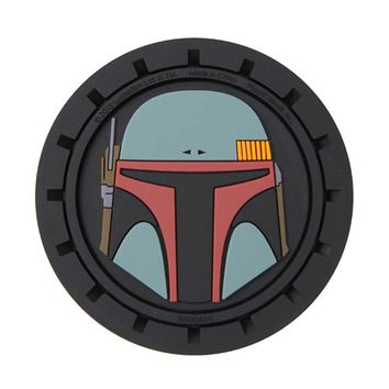 Star Wars Boba Fett Auto Coasters 2-Pack - PlastiColor - Star Wars - Car Accessories at Entertainment Earth