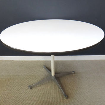 Round Eames Laminate Table