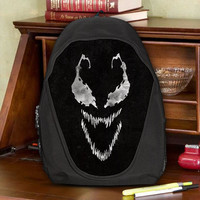Venom Symbiote The Alien Costume Teen Kids Canvas School Backpack Bag Rucksack
