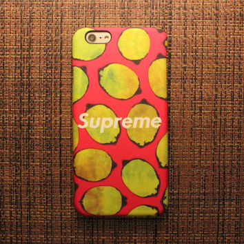 Supreme Lemon Case for iPhone