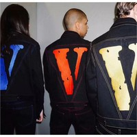 Vlone Denim Friends Jacket