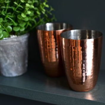 Hammered Copper Cocktail Cup