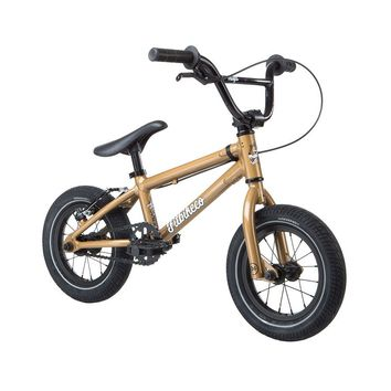 "FIT 2019 MISFIT 12"" GOLD COMPLETE BMX BIKE"