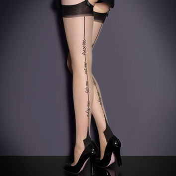 Stockings by Agent Provocateur - Whip Me Stockings