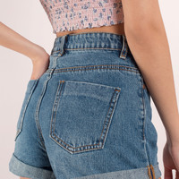 Normandie Denim Shorts