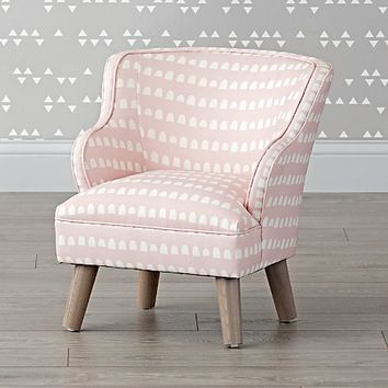 Pink Gumdrops Petite Upholstered Armchair