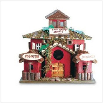Winery Birdhouse (pack of 1 EA)