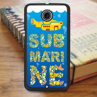 Yellow Submarine Nexus 6 Case