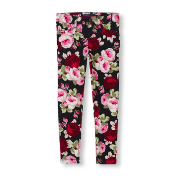 Rose Print Woven Jeggings | The Children's Place