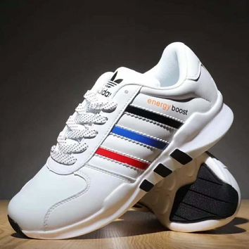 Adidas NEO Boost  Trending Running Sport Casual Shoes Sneakers For Women Men White G-XYXY-FTQ